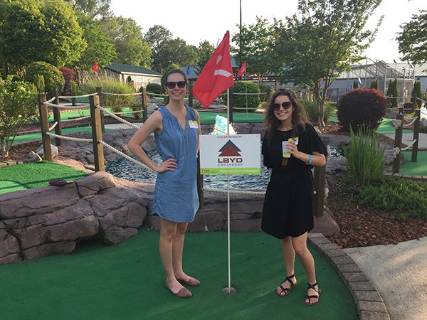 AIA Mini Golf Tournament