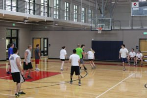 Civil vs Structural Basketball Game