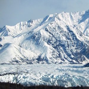 Matanuska Glacier and mountains (1)